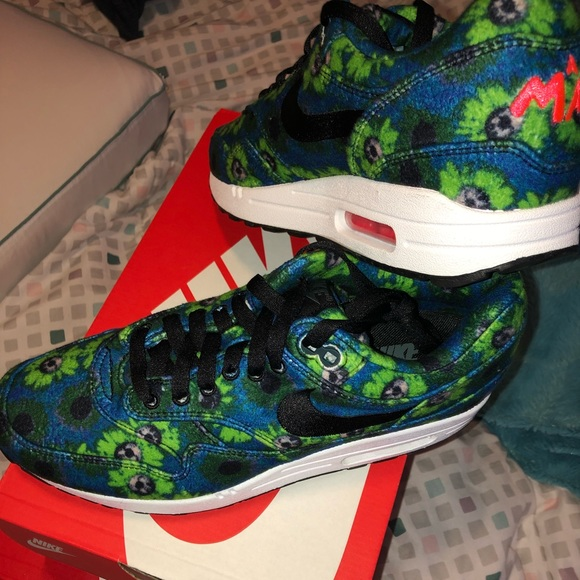 "release date 82df7 4cd1f 🆕🚹Nike Air Max 1 ""Floral Mowabb Faded Spruce""‼️"